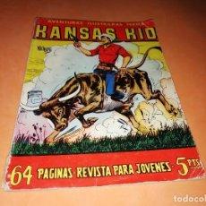 Tebeos: KANSAS KID. AVENTURAS ILUSTRADAS FERMA. Nº 27 . 1958.. Lote 157258814