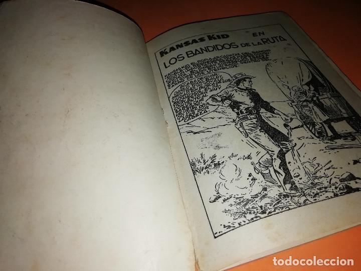 Tebeos: KANSAS KID. AVENTURAS ILUSTRADAS FERMA. Nº 27 . 1958. - Foto 3 - 157258814