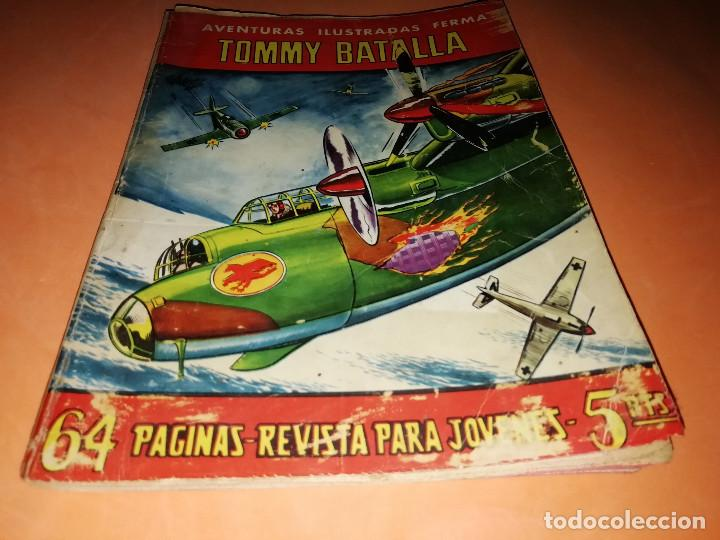 TOMMY BATALLA. AVENTURAS ILUSTRADAS FERMA. Nº 19 . 1958. (Tebeos y Comics - Ferma - Aventuras Ilustradas)