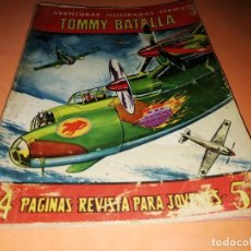 Tebeos: TOMMY BATALLA. AVENTURAS ILUSTRADAS FERMA. Nº 19 . 1958.. Lote 234895885