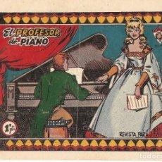 Tebeos: COLECCIÓN CAROLINA - ZULIMA Nº 1- EL PROFESOR DE PIANO - EDITORIAL FERMA 1959. Lote 157993802
