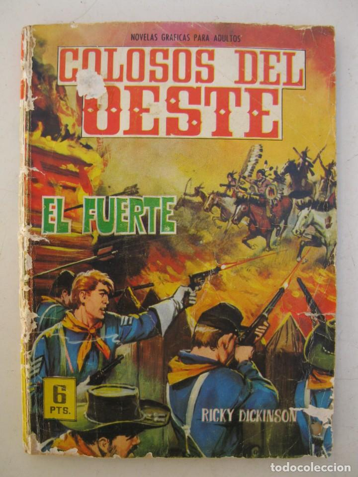 COLOSOS DEL OESTE - Nº 74 - EL FUERTE - EDITORIAL FERMA - AÑO 1964. (Tebeos y Comics - Ferma - Colosos de Oeste)