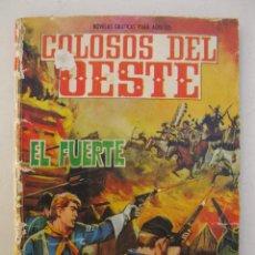 Tebeos: COLOSOS DEL OESTE - Nº 74 - EL FUERTE - EDITORIAL FERMA - AÑO 1964.. Lote 158108074