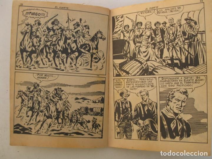 Tebeos: COLOSOS DEL OESTE - Nº 74 - EL FUERTE - EDITORIAL FERMA - AÑO 1964. - Foto 2 - 158108074