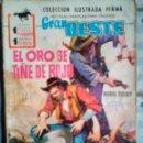 Tebeos: GRAN OESTE- Nº 153 -EL ORO SE TIÑE DE ROJO- HARRY BISHOP -1961-CORRECTO-DIFÍCIL-MUY AMENO-0817. Lote 159789165