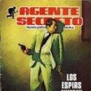 Tebeos: AGENTE SECRETO- Nº 2 -LOS ESPÍAS MUEREN DE PIE-1982 -GRAN UIS COLLADO-BUENO-DIFÍCIL-LEAN-0828. Lote 159872777