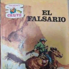 Tebeos: SENDAS DEL OESTE EL FALSARIO. Lote 160017785