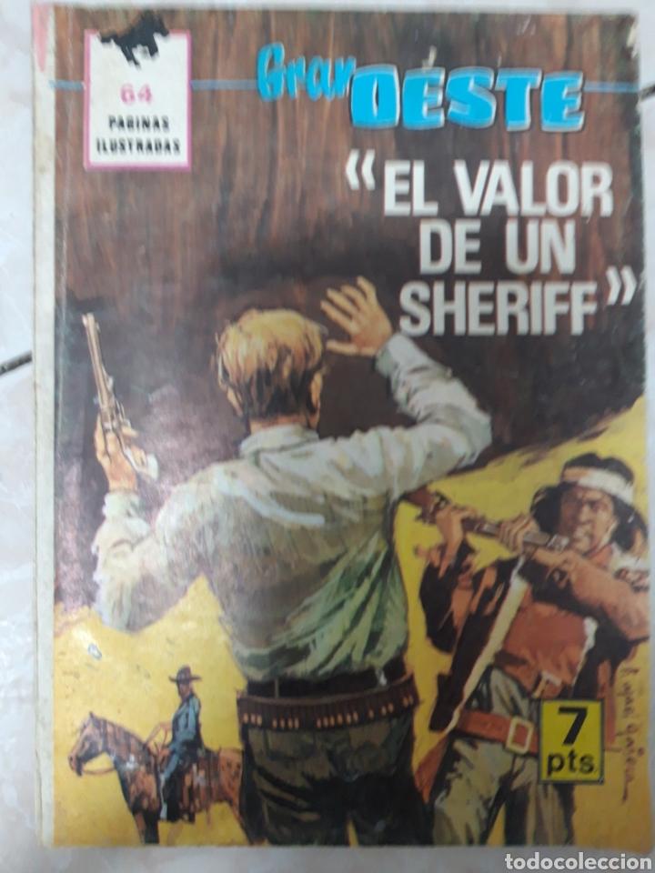 EL GRAN OESTE EL VALOR DE UN SHERIFF (Tebeos y Comics - Ferma - Gran Oeste)