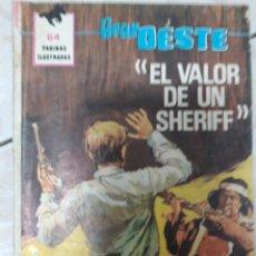 Tebeos: EL GRAN OESTE EL VALOR DE UN SHERIFF. Lote 160018025