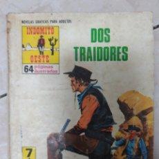 Tebeos: INDÓMITO OESTE DOS TRAIDORES. Lote 160018873