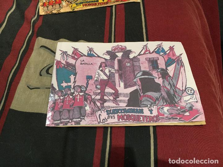Tebeos: DARTAGNAN Y LOS TRES MOSQUETEROS, Nº 1-3 4 5 Y 6 ED FERMA 1956, - Foto 8 - 160346626