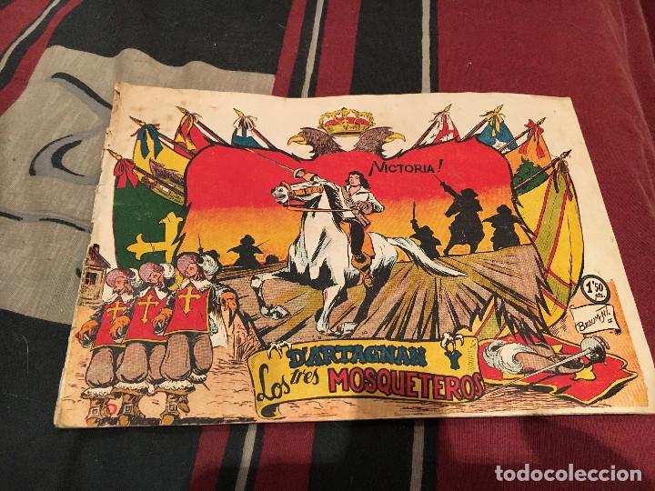 Tebeos: DARTAGNAN Y LOS TRES MOSQUETEROS, Nº 1-3 4 5 Y 6 ED FERMA 1956, - Foto 11 - 160346626
