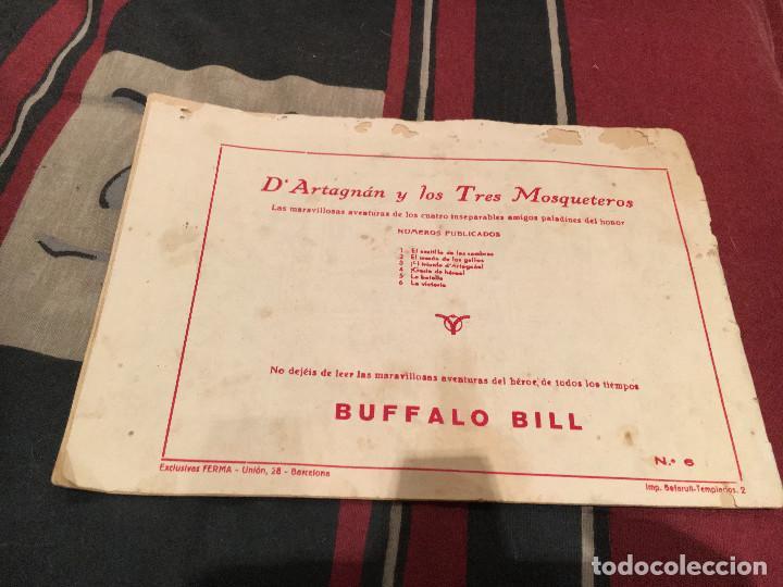 Tebeos: DARTAGNAN Y LOS TRES MOSQUETEROS, Nº 1-3 4 5 Y 6 ED FERMA 1956, - Foto 12 - 160346626