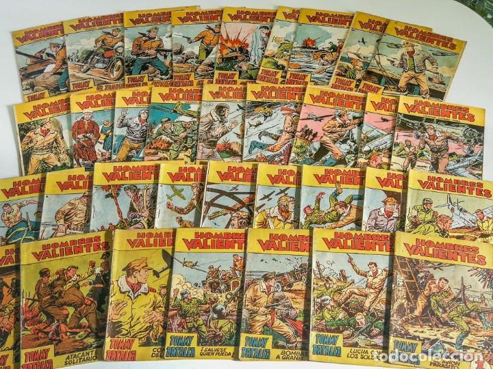 HOMBRES VALIENTES - TOMMY BATALLA, COLECCIÓN COMPLETA 36 NÚMEROS (FERMA 1958) (Tebeos y Comics - Ferma - Otros)