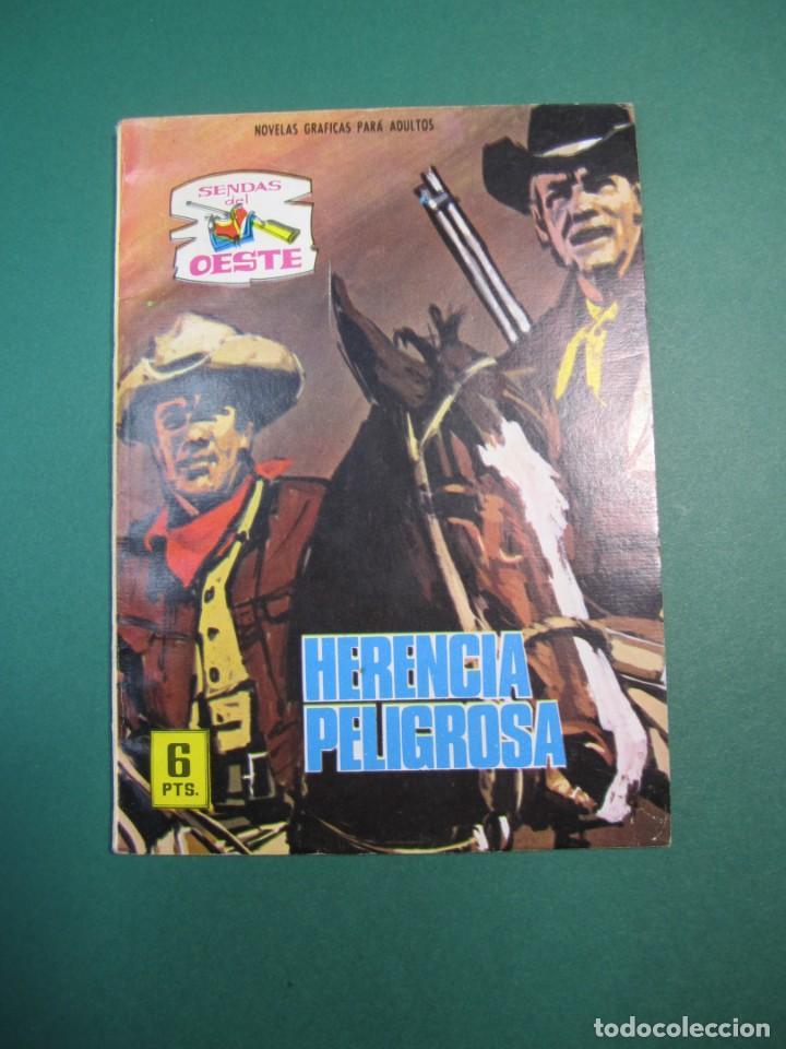 SENDAS SALVAJES / SENDAS DEL OESTE (1962, FERMA) 304 · 30-III-1970 · SENDAS SALVAJES / SENDAS DEL OE (Tebeos y Comics - Ferma - Otros)