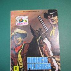 Tebeos: SENDAS SALVAJES / SENDAS DEL OESTE (1962, FERMA) 304 · 30-III-1970 · SENDAS SALVAJES / SENDAS DEL OE. Lote 160546702