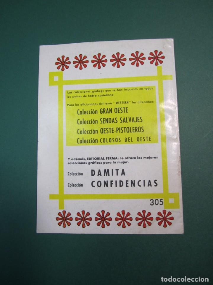 Tebeos: SENDAS SALVAJES / SENDAS DEL OESTE (1962, FERMA) 305 · 6-IV-1970 · SENDAS SALVAJES / SENDAS DEL OEST - Foto 2 - 160547038