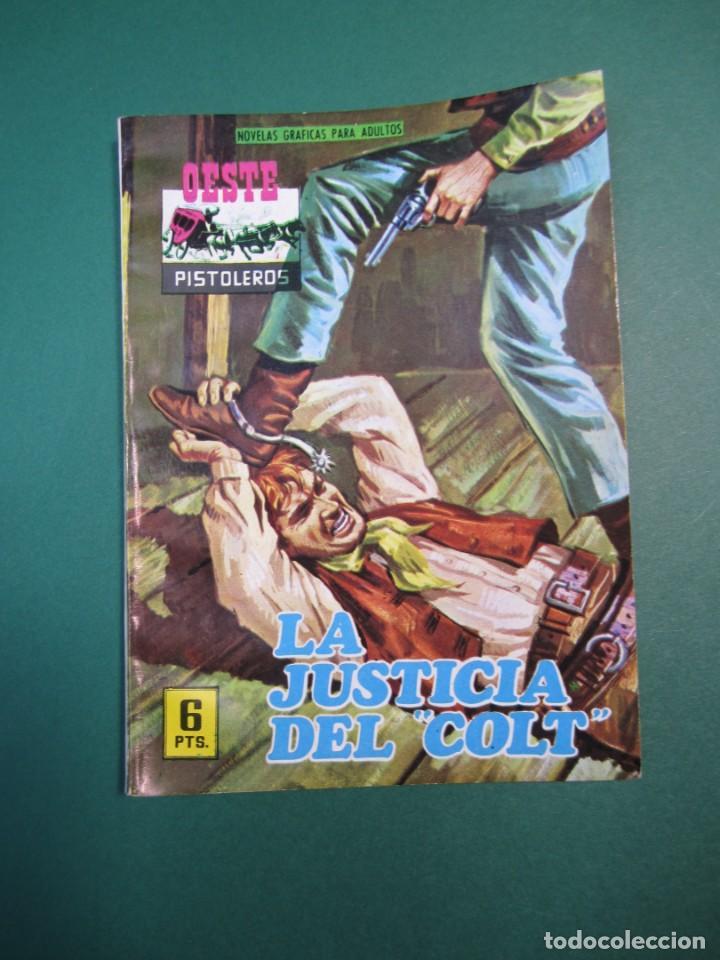 OESTE (1964, FERMA) 142 · 17-V-1969 · OESTE PISTOLEROS. LA JUSTICIA DEL COLT (Tebeos y Comics - Ferma - Otros)