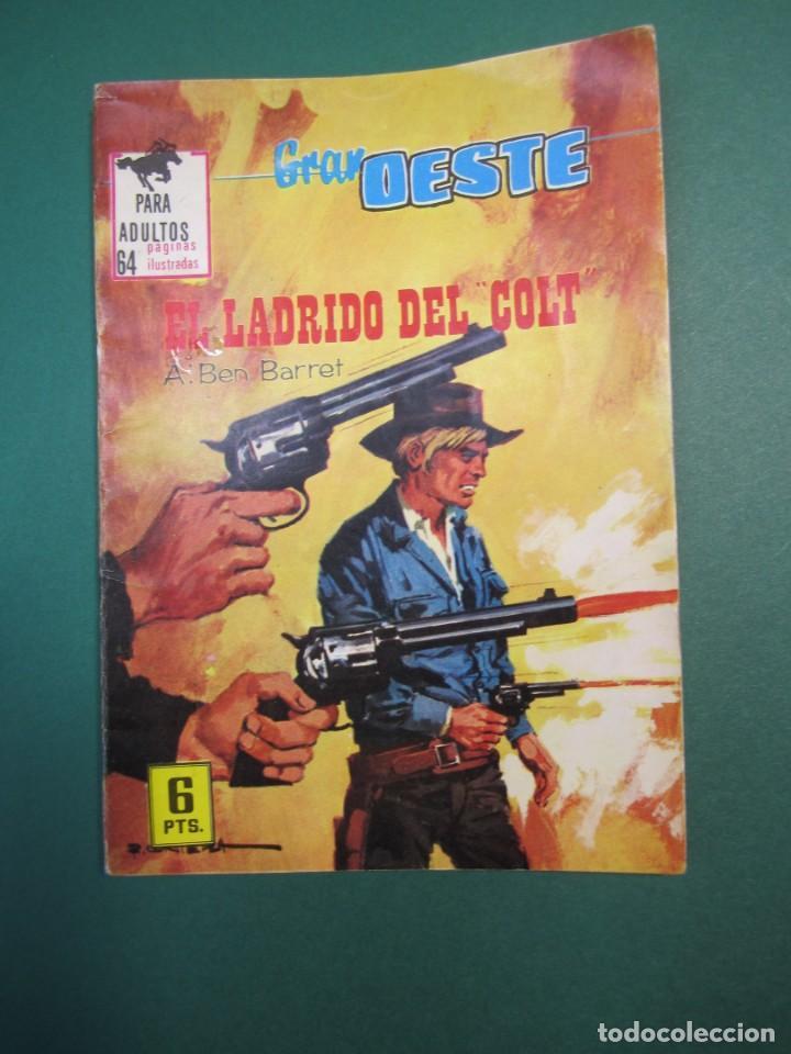 GRAN OESTE / MONTANA OESTE (1958, FERMA) 395 · 9-XII-1965 · EL LADRIDO DEL COLT (Tebeos y Comics - Ferma - Otros)