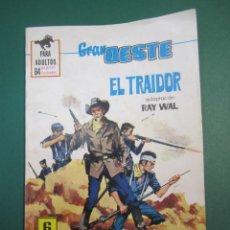 Tebeos: GRAN OESTE / MONTANA OESTE (1958, FERMA) 388 · 21-X-1965 · GRAN OESTE / MONTANA OESTE. Lote 160568974