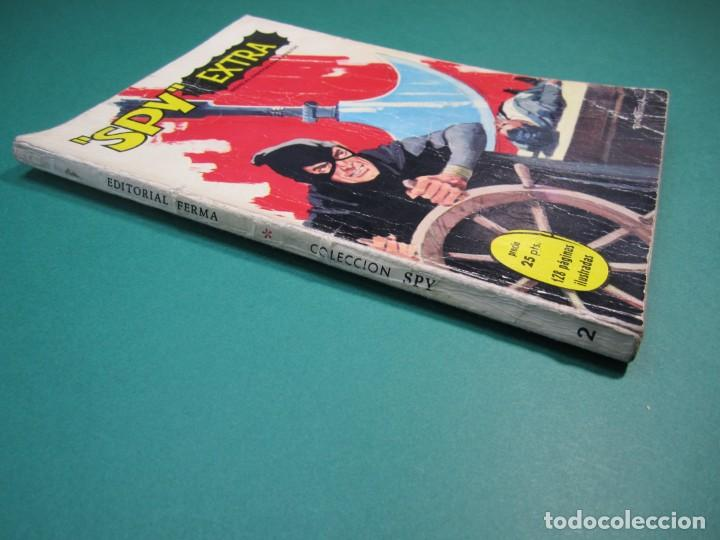 Tebeos: SPY EXTRA (1969, FERMA) 2 · 1969 · SPY EXTRA - Foto 3 - 160569942