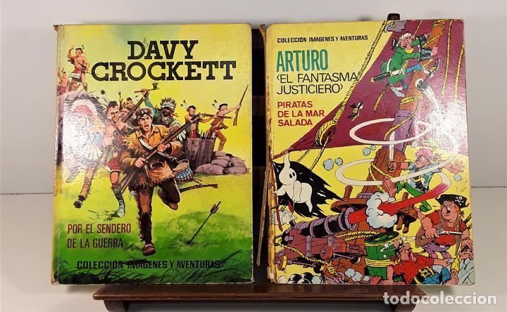 COLECCIÓN IMAGENES Y AVENTURAS. 2 EJEMPLARES. EDIT. FERMA. BARCELONA. 1965. (Tebeos y Comics - Ferma - Otros)