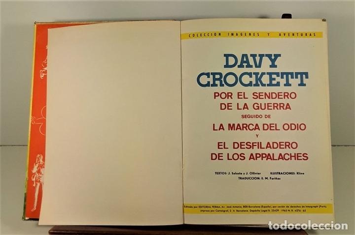 Tebeos: COLECCIÓN IMAGENES Y AVENTURAS. 2 EJEMPLARES. EDIT. FERMA. BARCELONA. 1965. - Foto 2 - 161368442