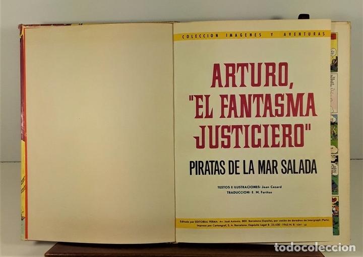 Tebeos: COLECCIÓN IMAGENES Y AVENTURAS. 2 EJEMPLARES. EDIT. FERMA. BARCELONA. 1965. - Foto 4 - 161368442