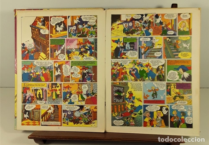 Tebeos: COLECCIÓN IMAGENES Y AVENTURAS. 2 EJEMPLARES. EDIT. FERMA. BARCELONA. 1965. - Foto 6 - 161368442