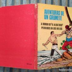 Tebeos: AVENTURAS DE UN GRUMETE: A BORDO DEL ALBATROS-PERDIDOS EN LOS HIELOS- E. SANCHEZ ABULI (FERMA 1970) . Lote 161874526