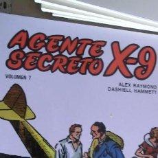 Livros de Banda Desenhada: AGENTE SECRETO X 9 B.O COMPLETA 7 EJEMPLARES. Lote 161880106