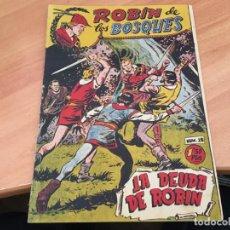 Tebeos: ROBIN DE LOS BOSQUES Nº 28 LA DEUDA DE ROBIN (ORIGINAL FERMA) (COIM28). Lote 162115742