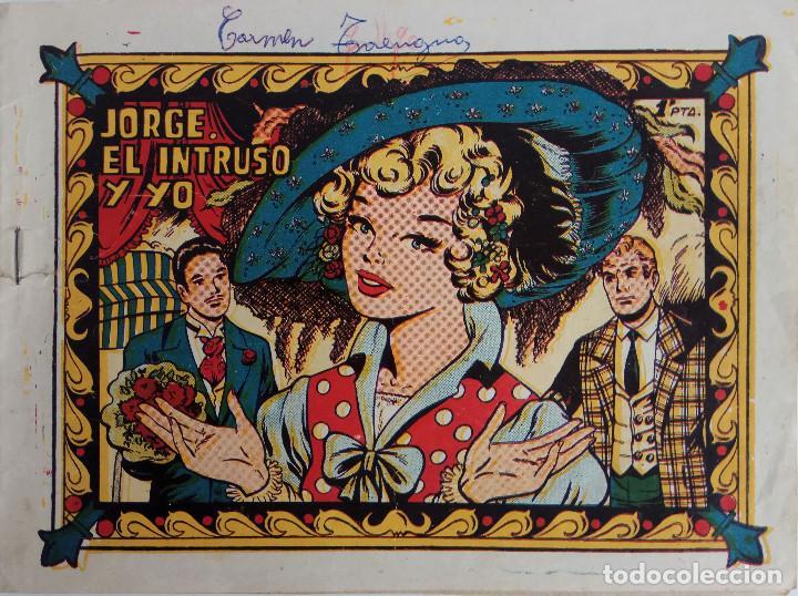 COLECCIÓN CAROLINA Nº 113 - JORGE, EL INTRUSO Y YO (Tebeos y Comics - Ferma - Otros)