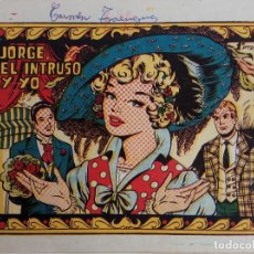 Tebeos: COLECCIÓN CAROLINA Nº 113 - JORGE, EL INTRUSO Y YO . Lote 162675202