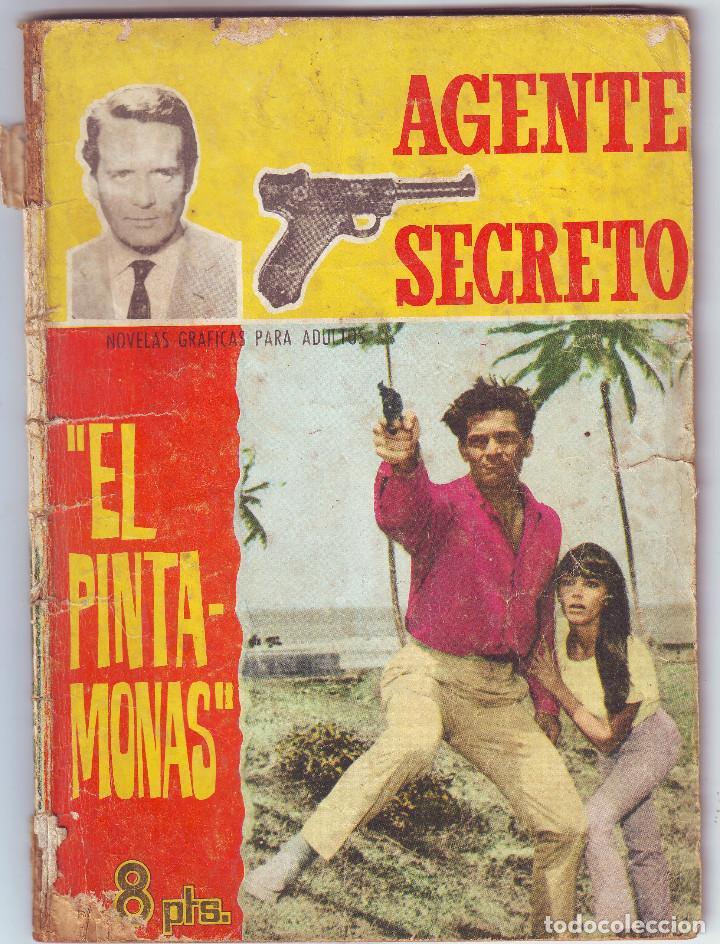 EL PINTAMONAS DE EDICIONES FERMA (Tebeos y Comics - Ferma - Agente Secreto)