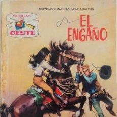 Tebeos: COLECCIÓN SENDAS DEL OESTE - Nº 171 - EL ENGAÑO. Lote 164091506