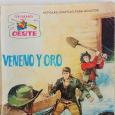 Tebeos: COLECCIÓN SENDAS DEL OESTE Nº 192 - VENENO Y ORO. Lote 164092666