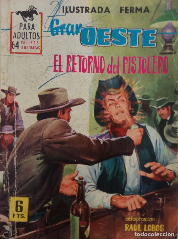 COLECCIÓN GRAN OESTE Nº 262 - EL RETORNO DEL OESTE (Tebeos y Comics - Ferma - Gran Oeste)