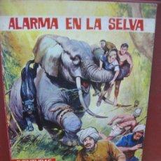 Tebeos: ALARMA EN LA SELVA. AVENTURAS ILUSTRADAS. PRODUCCIONES EDITORIALES 1980.. Lote 164796418