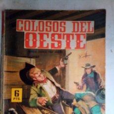 Livros de Banda Desenhada: COLOSOS DEL OESTE- Nº 72 -KENTUCKY.HOMBRES VALEROSOS- 1965- MUY RARO Y ESCASO- LEAN- 1155. Lote 164949573