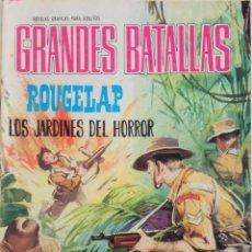 Tebeos: COLECCIÓN GRANDES BATALLAS Nº 72 - ROUGELAP, LOS JARDINES DEL HORROR. Lote 165315538