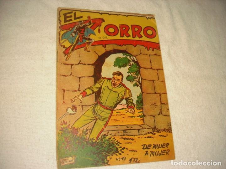 EL ZORRO Nº 19 . DE MUJER A MUJER. 1956. (Tebeos y Comics - Ferma - Otros)