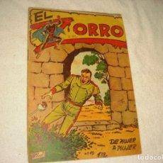 Tebeos: EL ZORRO Nº 19 . DE MUJER A MUJER. 1956.. Lote 165730190