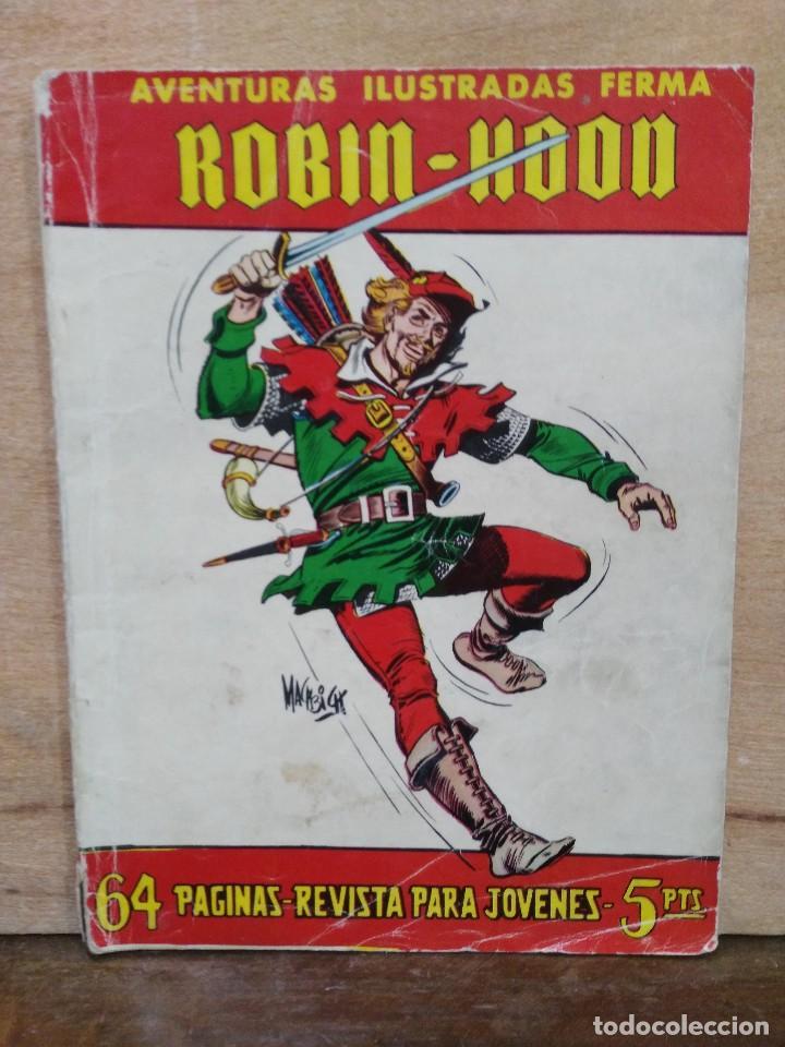 ROBIN - HOOD - Nº 38 - ED. FERMA (Tebeos y Comics - Ferma - Aventuras Ilustradas)