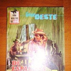Tebeos: DE ESPALDAS A LA LEY (GRAN OESTE ; 420). Lote 166559338
