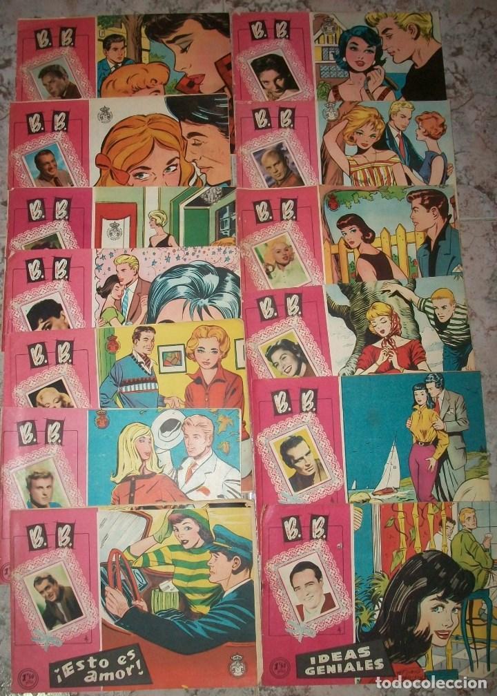 B. B. (FERMA) LOTE DE 13 NUMEROS (Tebeos y Comics - Ferma - Otros)