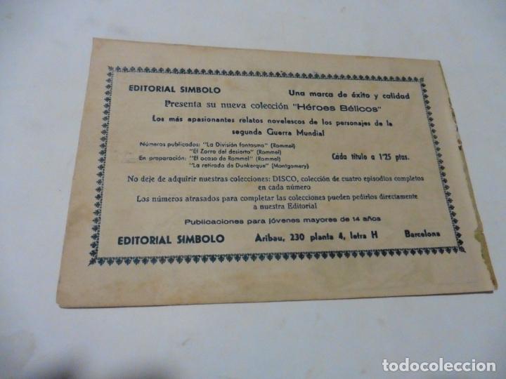 Tebeos: HEROES BELICOS Nº 2 SIMBOLO ORIGINAL - Foto 2 - 167735692