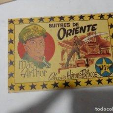Tebeos: HEROES BELICOS Nº 7 SIMBOLO ORIGINAL. Lote 167736800