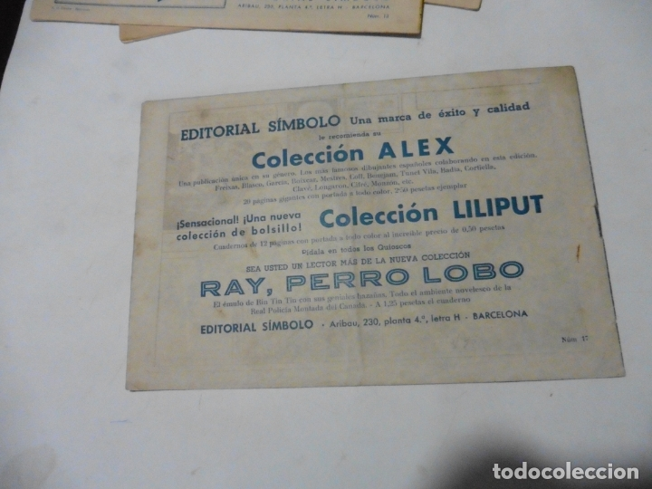 Tebeos: HEROES BELICOS Nº 17 SIMBOLO ORIGINAL - Foto 2 - 167737192