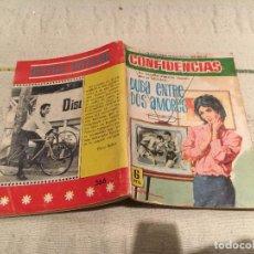 Livros de Banda Desenhada: CONFIDENCIAS Nº366 DUDA ENTRE DOS AMORES -FERMA. Lote 168611436